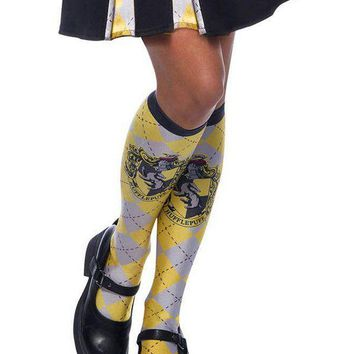 The Wizarding World Of Harry Potter Hufflepuff Socks for Adults