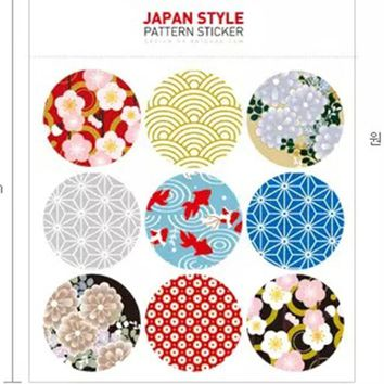 Fantastic 90pcs/lot Japan Korea Fashion Design Sticker Labels Food Seals, Gift Stickers For Wedding Free Shipping