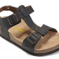 Birkenstock Odessa Sandals Artificial Leather Black - Ready Stock