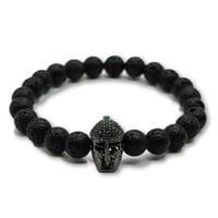The Spartan - Lava Stone Black
