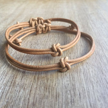 Couples Bracelets, His and her Bracelet, Couples Jewelry, Knot Couple Bracelet, His and Hers Gifts, Love Couple Bracelet, Matching Bracelet