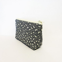 Cotton Zipper Pouch Small Pouch Cosmetic Bag Pencil Case - Optical Origami