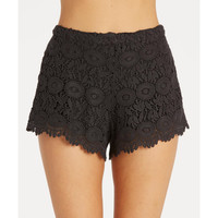HEAVENLY SKIES CROCHET SHORTS