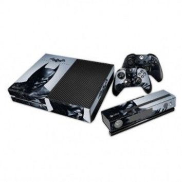 New Arrival Batman: Arkham City Decal Skin Sticker Cover For Xbox One Console And Controller