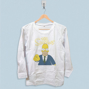 Long Sleeve T-shirt - The Simpsons Homer Simpson