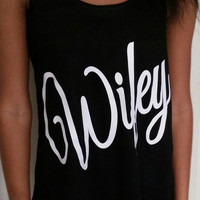 Wifey Flowy Fitness Tank Top. Loose Gym Shirt. Fitness Tank Top. Woman's Work Out Clothing. Racer back Tank this l
