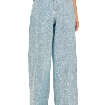 Topshop Mermaid Wide Leg Jeans | Nordstrom