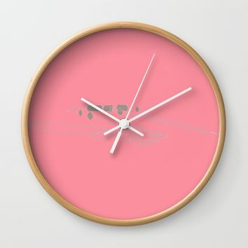 re_8 Wall Clock by Kristina Kerstner
