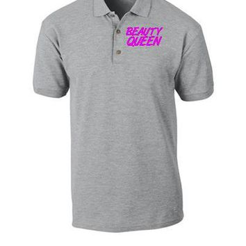 beauty queen Bucket Hat, - Polo Shirt