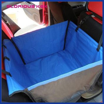 Back Single-seated Dog Car Seat Cover.
