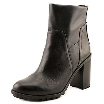 Sam Edelman Women's Marla Black Leather Heels Ankle Boots
