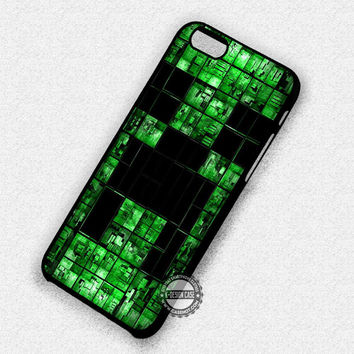 Minecraft Creeper Gaming - iPhone 7 Plus 6S 5 SE Cases & Covers