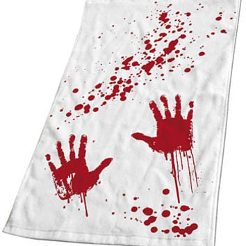 Blood Bath Hand Towel - PLASTICLAND