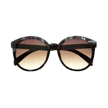 Stylish Print Large Round Retro Design Sunglasses R3200