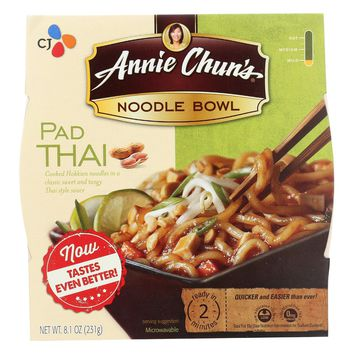 Annie Chun's Korean Pad Thai Noodle Bowl - Case Of 6 - 8.4 Oz.