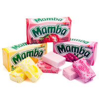 Mamba Fruit Chews Candy 6-Packs - Original: 48-Piece Box