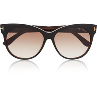 Tom Ford - Saskia cat-eye acetate sunglasses