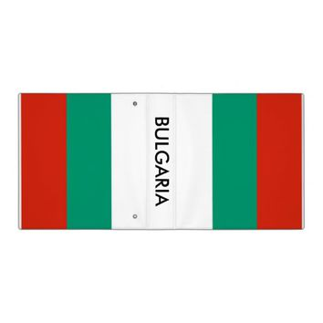 Binder with Flag of Bulgaria