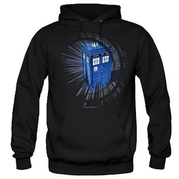 Doctor Who Hoodie Police Box