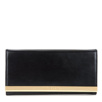 Metal bar matinee purse - Black | Wallets | Ted Baker