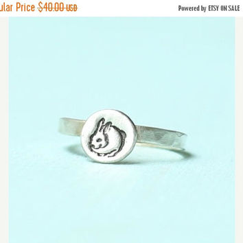 ON SALE ON Sale stackable chubby bunny ring, eco-friendly sterling silver or 14kt gold vermeil. Handcrafted by artisan Chocolate and Steel