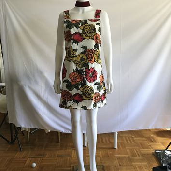 The Motel Roses Patterned Shift Tea Dress