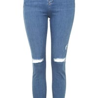 MOTO Ripped Jamie Jeans - Topshop
