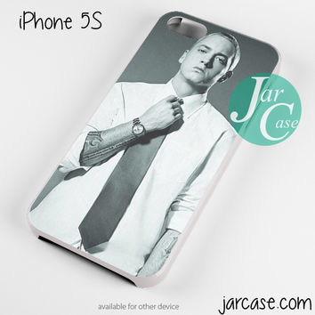 Eminem With Suit Phone case for iPhone 4/4s/5/5c/5s/6/6 plus