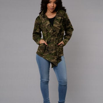 War Zone Jacket - Camo