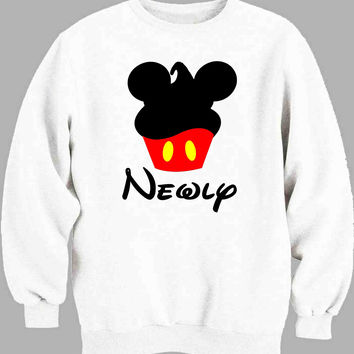 Mickey minnie newlyweds men Sweater for Mens Sweater and Womens Sweater ***