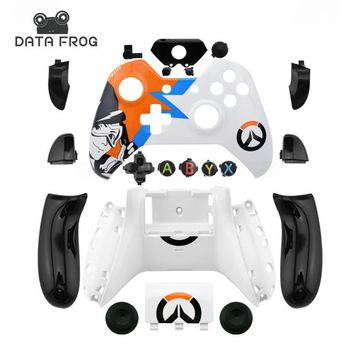 Data Frog Custom Limited Edition Cases For Xbox One Controller Replacement Housing Shell For Xbox One Case Mod Kit+Full Buttons