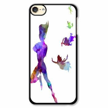 Peter Pan In Watercolor iPod Touch 6 Case