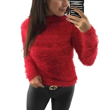 Tops Ladies Winter Long Sleeve T-shirts [362177134621]