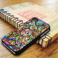 All Characters Disney Stained Glass iPhone 5 Or 5S Case