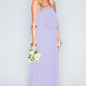 Show Me Your mumu Hacienda Maxi Dress ~ Lilac