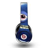 The Angry Blue Fury Monster Skin for the Original Beats by Dre Studio Headphones