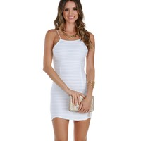 Promo-white Shes The One Ribbed Tunic