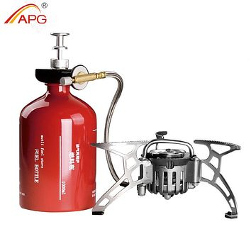 Oil and Gas Burning Camping Stove