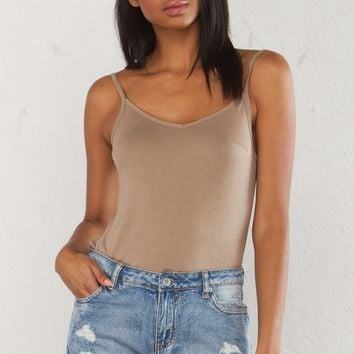 Basic Tank in Off White, Lavender, Greige, Black and Apricot