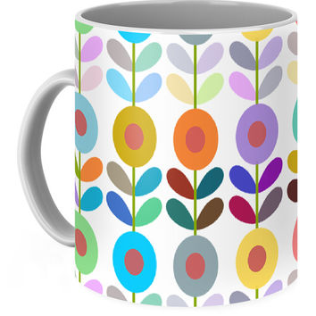 Zappwaits Flower Coffee Mug
