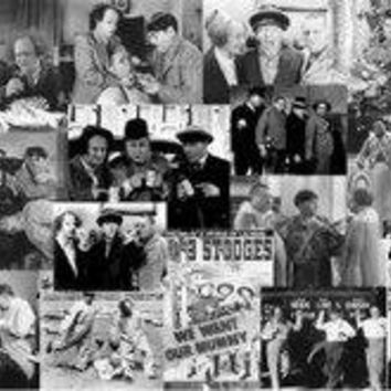 The Three Stooges: Movie Collage