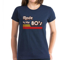 Walmart: CafePress Womens Made In The 80's T-Shirt