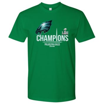 Awesome Philadelphia Eagles Champions Men's T-Shirt (15 Colors)