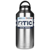 Rtic Stainless Steel Bottle (64oz) Silver 64oz