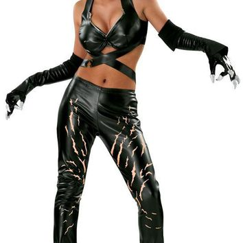 Cat woman hero gothom city super hero women's costume