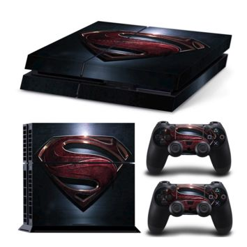 Superman Skin For Playstation PS4 Console