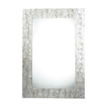 Tolka Quay Mirror Natural Shell,Mother of Pearl Shell