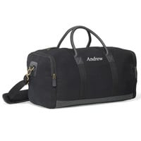 Personalized Black Heritage Supply Duffle Bag