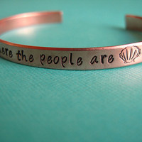 Little Mermaid BraceletWhere the People Are by SpiffingJewelry
