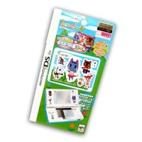 DS Lite Animal Crossing New Leaf Screen Protective Seal and Stickers K.K. Slider/Tom Nook